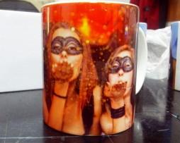 Чаша със снимки + дизайн.