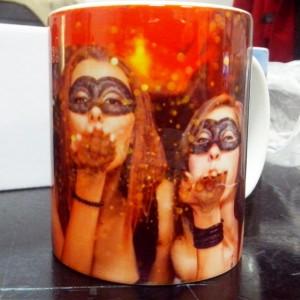 чаша със снимка, подарък за приятел