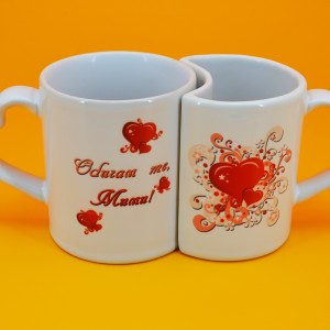 подарък за двама, чаши за двама