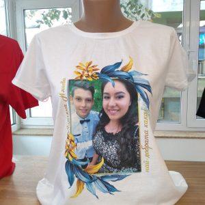Тениска със снимка