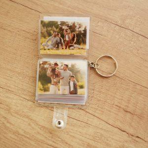 Албум за снимки ключодържател